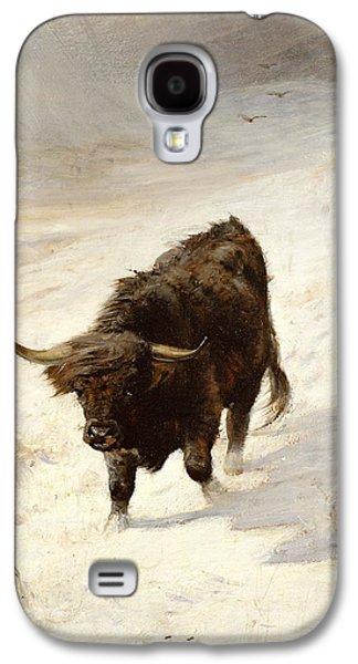 Black Beast Wanderer  Galaxy S4 Case by Joseph Denovan Adam