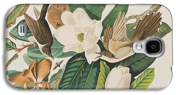 Black Billed Cuckoo Galaxy S4 Case by John James Audubon