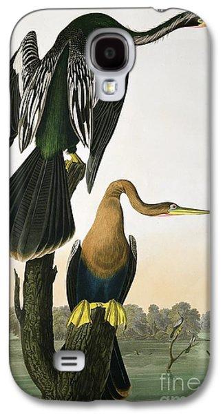 Black Billed Darter Galaxy S4 Case by John James Audubon