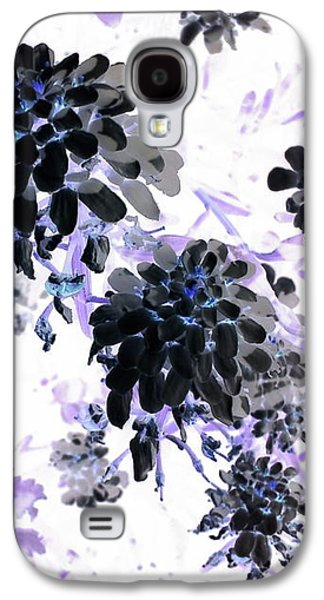 Galaxy S4 Case - Black Blooms I by Orphelia Aristal