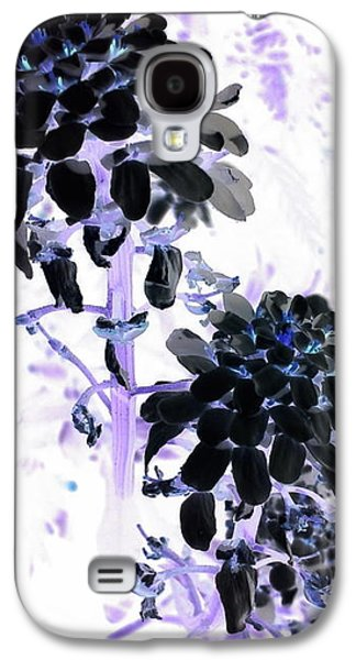 Galaxy S4 Case - Black Blooms I I by Orphelia Aristal