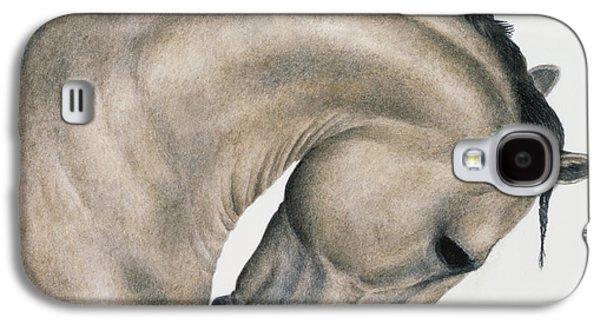 Horse Galaxy S4 Case - Black Braid by Pat Erickson