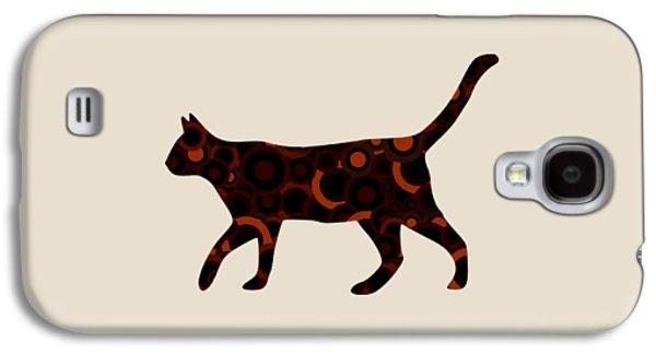 Black Cat - Animal Art Galaxy S4 Case