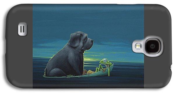 Black Dog Galaxy S4 Case by Jasper Oostland