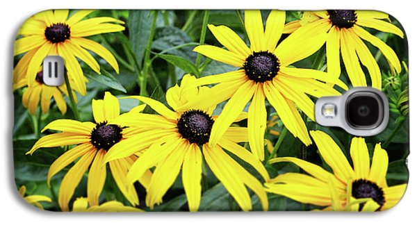 Black Eyed Susans- Fine Art Photograph By Linda Woods Galaxy S4 Case by Linda Woods
