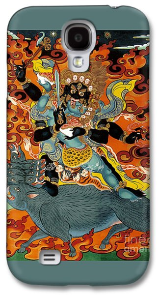 Black Hayagriva Galaxy S4 Case by Sergey Noskov