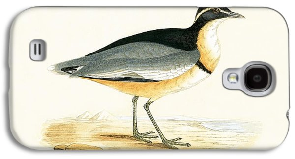 Black Headed Plover Galaxy S4 Case by English School