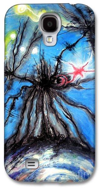 Black Hole Eating Itself Galaxy S4 Case