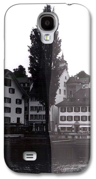 Black Lucerne Galaxy S4 Case by Christian Eberli
