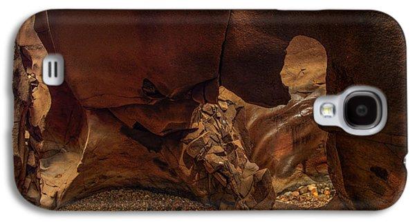 Black Magic Canyon Form Galaxy S4 Case by Leland D Howard