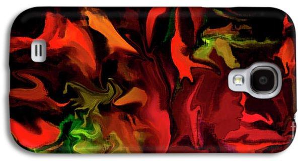 Black Magic  Galaxy S4 Case by Sherri's Of Palm Springs