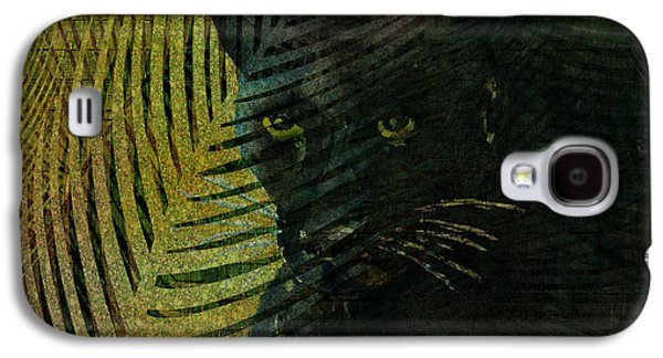 Black Panther Galaxy S4 Case by Arline Wagner