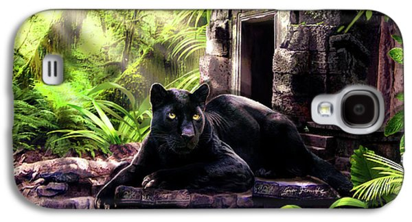 Black Panther Custodian Of Ancient Temple Ruins  Galaxy S4 Case