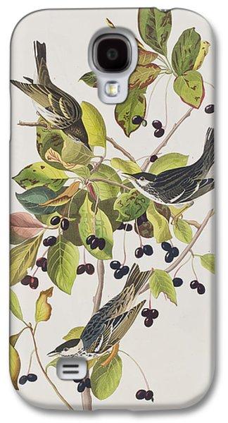 Black Poll Warbler Galaxy S4 Case by John James Audubon