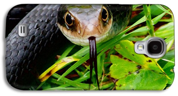 Wild Racers Galaxy S4 Cases - Black Racer Galaxy S4 Case by Angel H Juarbe