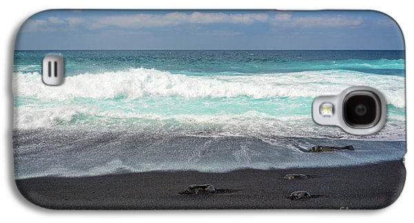 Canary Galaxy S4 Case - Black Sand Beach by Delphimages Photo Creations