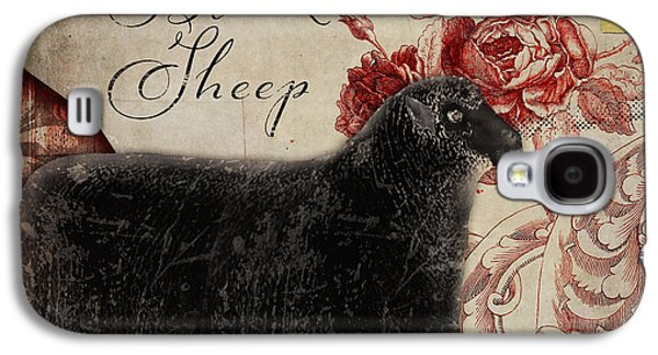 Black Sheep Nursery Rhyme Mother Goose Galaxy S4 Case