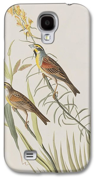 Bunting Galaxy S4 Case - Black-throated Bunting by John James Audubon