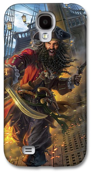 Blackbeard Galaxy S4 Case by Mark Fredrickson