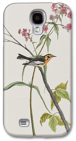 Warbler Galaxy S4 Case - Blackburnian Warbler by John James Audubon