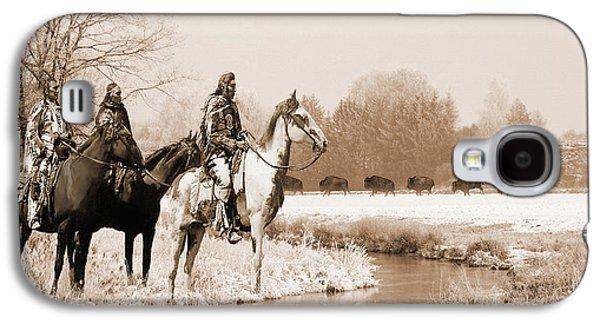 Blackfoot On The Buffalo Trail Galaxy S4 Case