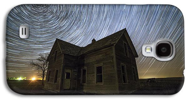 Blackhole Sun Galaxy S4 Case by Aaron J Groen