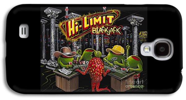 Martini Galaxy S4 Case - Blackjack Pimps by Michael Godard