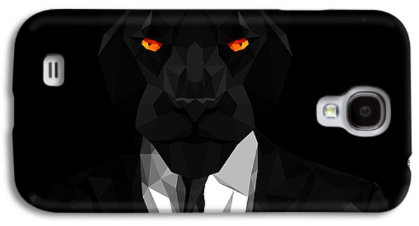Blacl Panther Galaxy S4 Case by Gallini Design