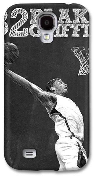 Blake Griffin Galaxy S4 Case by Semih Yurdabak
