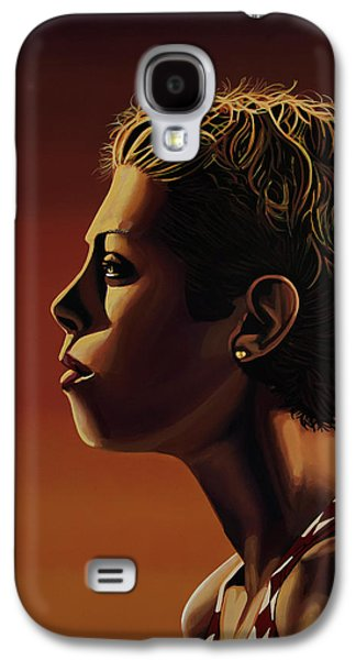 Blanka Vlasic Painting Galaxy S4 Case by Paul Meijering