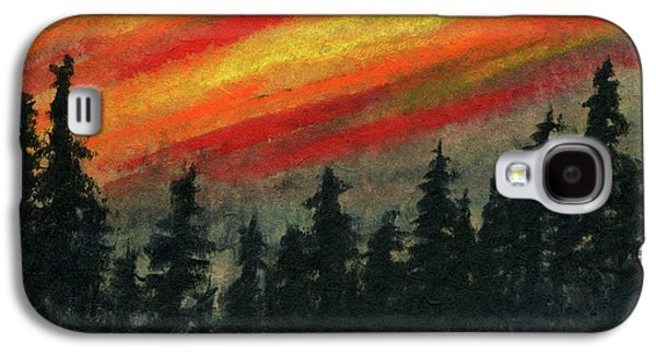 Blaze Over The Forest Galaxy S4 Case