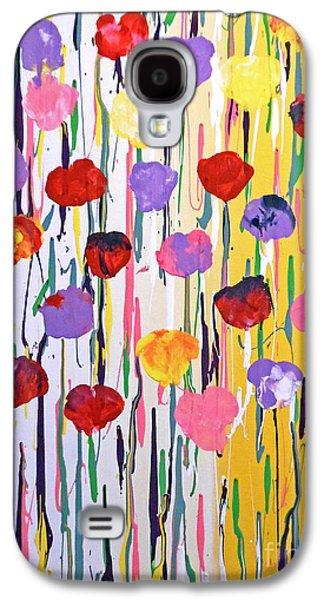 Bleeding Tulips Galaxy S4 Case by Jilian Cramb - AMothersFineArt