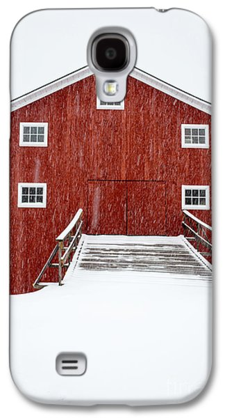 Blizzard At The Old Cow Barn Galaxy S4 Case