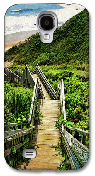 Landscapes Galaxy S4 Case - Block Island by Lourry Legarde