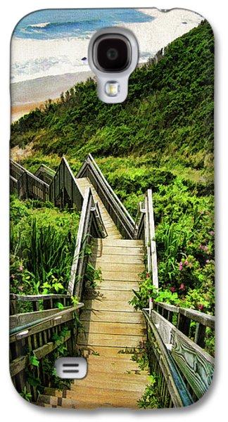 Landscape Galaxy S4 Case - Block Island by Lourry Legarde