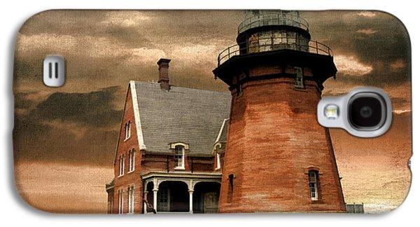 Block Island Southeast Light Galaxy S4 Case by Lourry Legarde