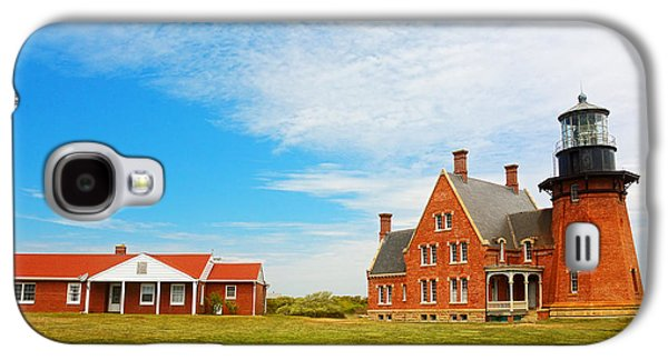 Block Island Southeast Lighthouse Rhode Island Galaxy S4 Case by Lourry Legarde