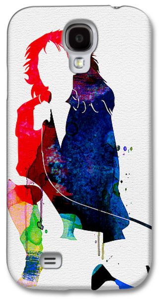 Blondie Watercolor Galaxy S4 Case by Naxart Studio