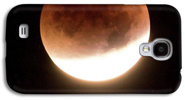 Blood Moon Eclipse Galaxy S4 Case by Wim Lanclus