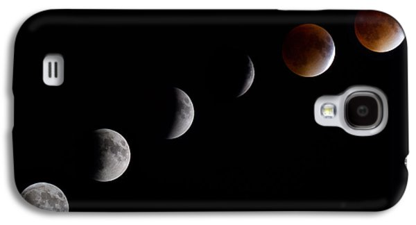 Blood Moon Lunar Eclipse Galaxy S4 Case