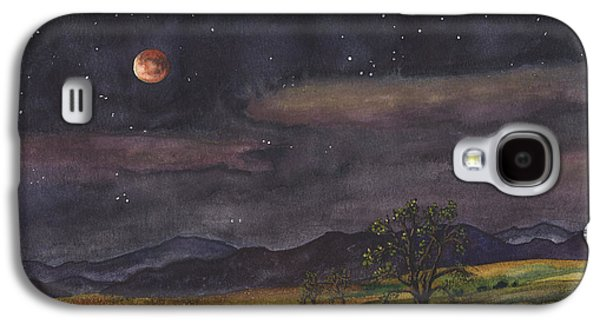 Blood Moon Over Boulder Galaxy S4 Case