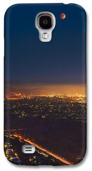 Blood Moon San Diego Galaxy S4 Case