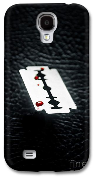 Bloody Razor Galaxy S4 Case by Carlos Caetano