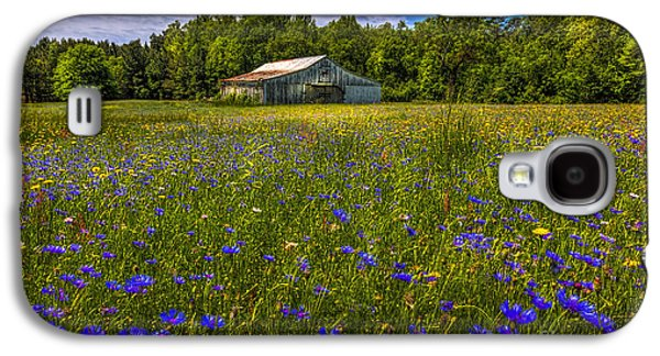 Blooming Country Meadow Galaxy S4 Case by Marvin Spates