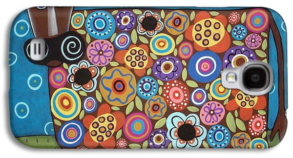 Blooming Cow Galaxy S4 Case by Karla Gerard