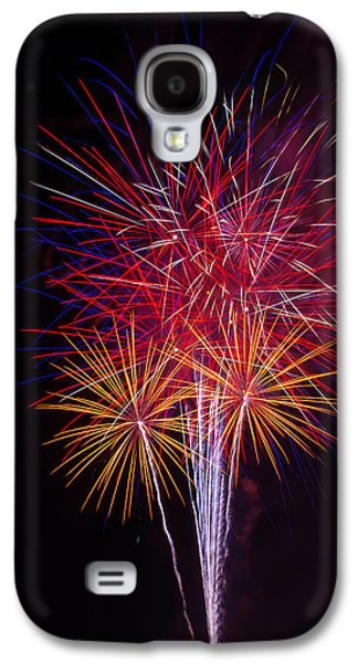 Blooming Fireworks Galaxy S4 Case