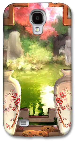 Blossoms And Vases  Galaxy S4 Case by Joel Payne