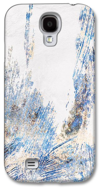 Blue And White Art - Ice Castles - Sharon Cummings Galaxy S4 Case