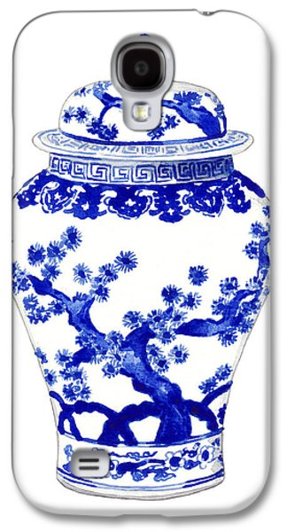 Blue And White Ginger Jar Chinoiserie 10 Galaxy S4 Case