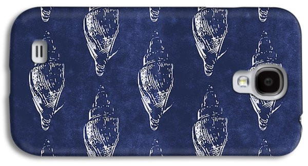 Blue And White Seashells 2- Art By Linda Woods Galaxy S4 Case
